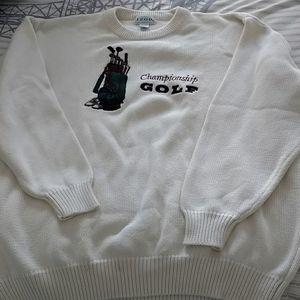 Men's golf sweater